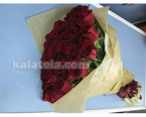 Букет 35 бр. червени рози